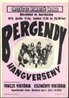 Bergendy miniplakát