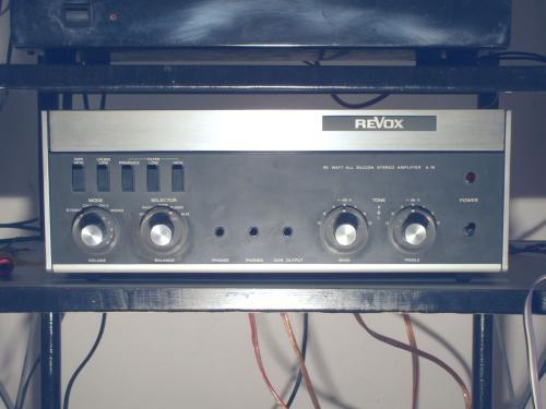REVOX erősítő  A-78