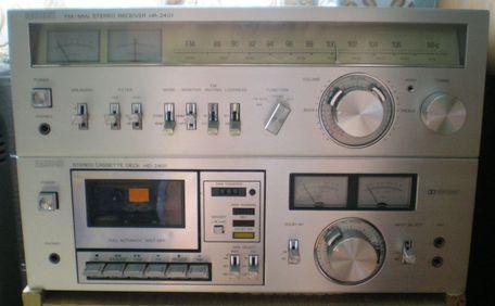 Radione receiver és deck