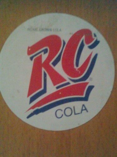 Royal Cola RC címke