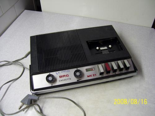 BRG MK-21 magnetofon fekete