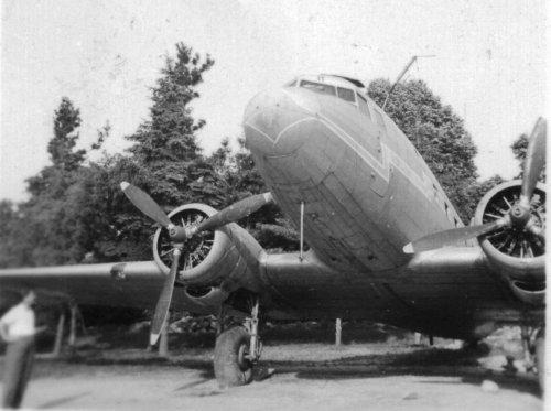 LI-2 repülőgép Szombathely
