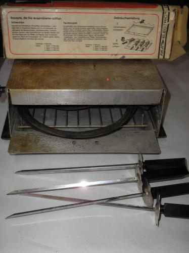AKA Electric party-grill saslik készlettel