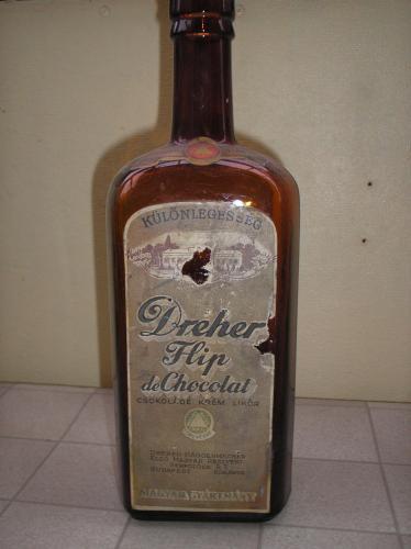 Nagy likörös üveg 1 L
