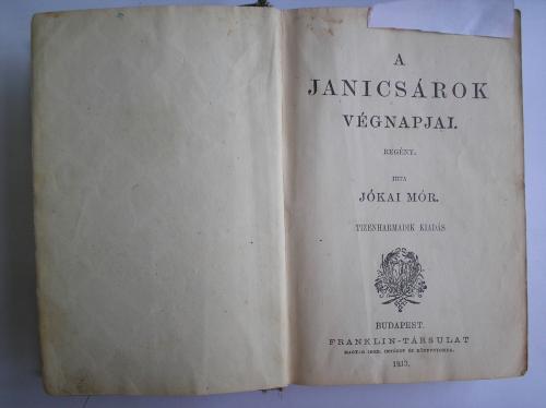 Jókai könyv