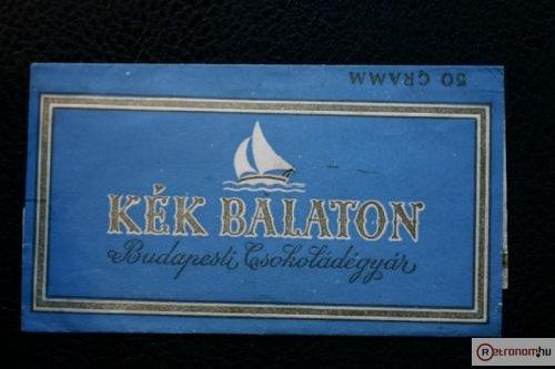 Kék Balaton csokoládé
