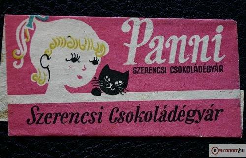 Szerencsi Panni csokoládé
