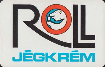 ROLL jégkrém - kártyanaptár