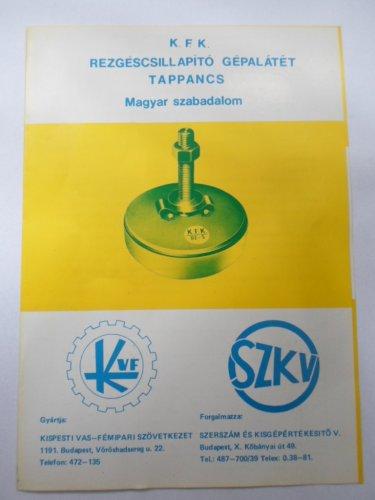 Kispesti vas-fémipari szövetkezet termékismertető '78