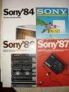 Sony prospektusok