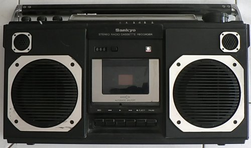 SANKYO rádiós magnó