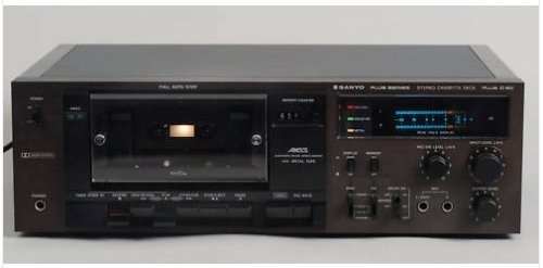 Sanyo Plus Series, D 60 Plus Tape Deck