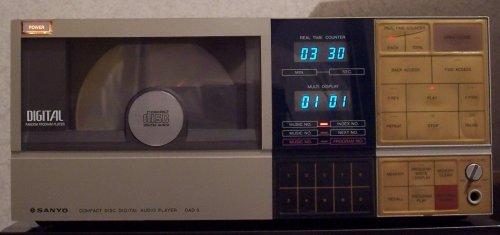 Sanyo DAD-8 cd játszó