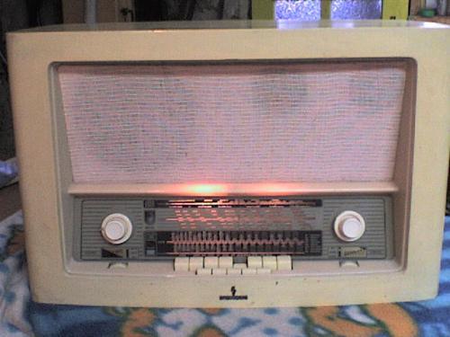 Siemens lámpás rádió