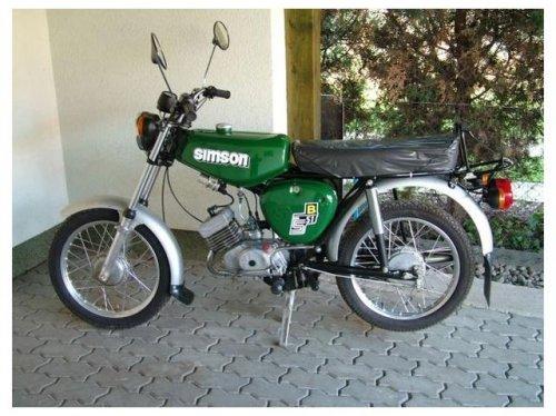 Simson motorkerékpár S51