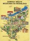 Somogy megyei térképes képeslap