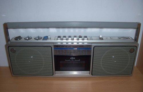 Sony CFS-5L rádiómagnó