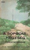 Soproni hegység térképe