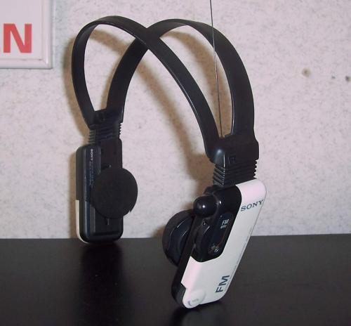 Sony SRF-FM1 fejhallgatós FM rádió
