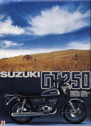 Suzuki GT-250 motorkerékpár