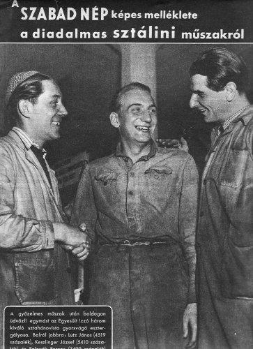 Tudósitás a Sztálini műszakról