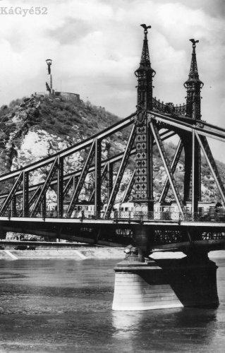 Szabadság híd és a Gellért hegy