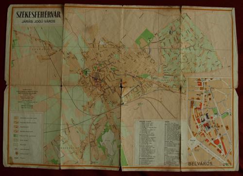 Székesfehérvár térkép