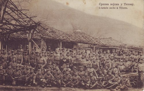 Szerb hadsereg Tetovo-nál