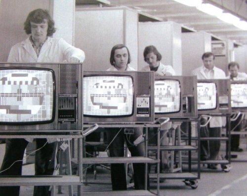 Videoton színes televízió gyártás