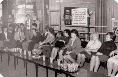 Szovjet dolgozók látogatása