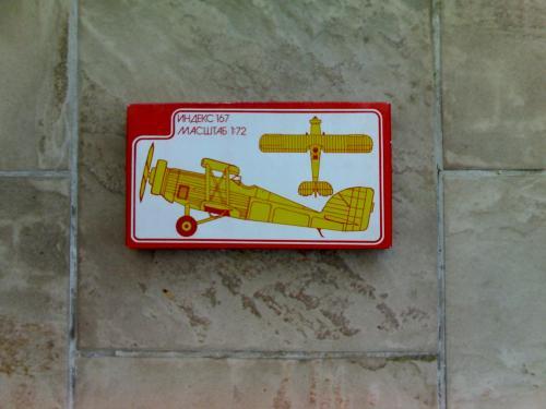 Szovjet repülő makett