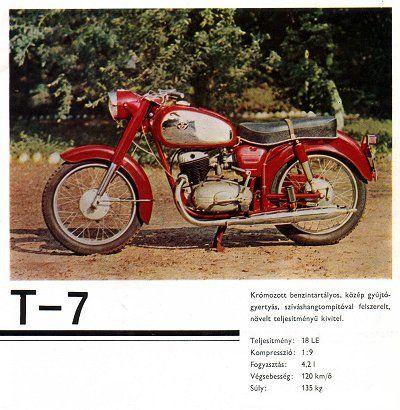Pannonia T-7 motorkerékpár