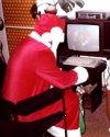 Télapó Commodore 64-gyel.