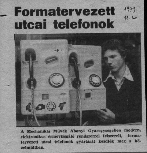 Utcai telefonok