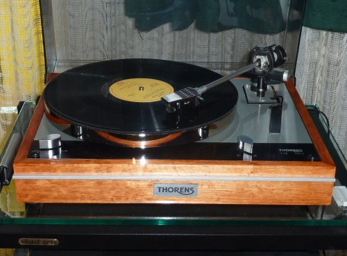 Thorens TD160 lemezjátszó felújítva