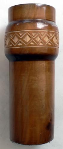 Asztali tolltartó fából
