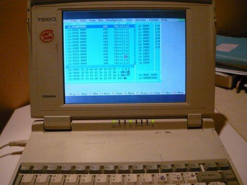 Toshiba laptop - T1910CS
