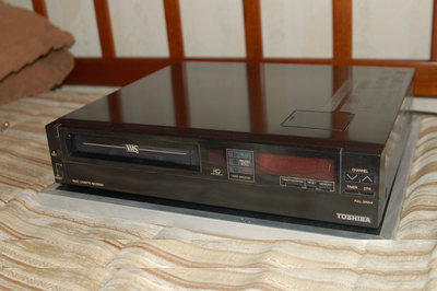 Toshiba videó -  VHS Video Cassette Recorder