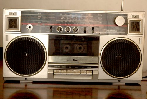 TOSHIBA rádiós magnó