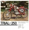 Pannonia Trial 250 motorkerékpár