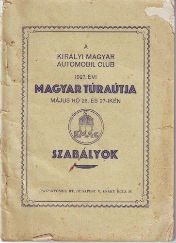 Királyi Autóklub Túraút