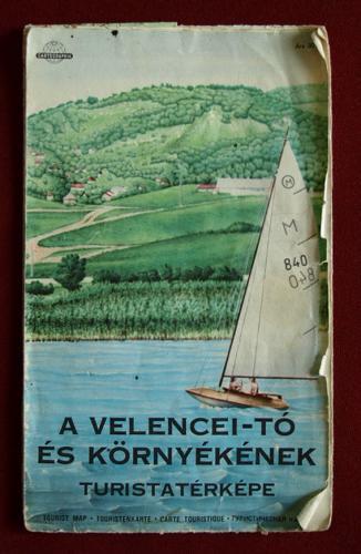 Velencei tó térkép