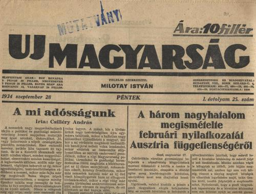 Uj Magyarság