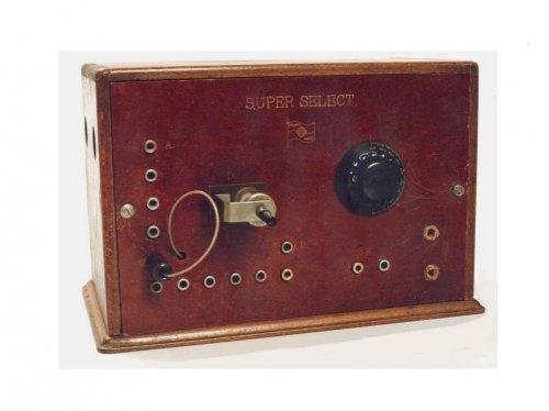 Rikert  Super Select detektoros rádió