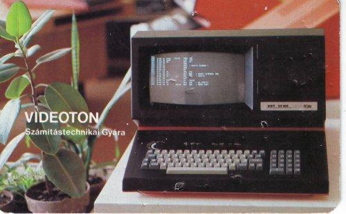 Vieoton Számítástechnikai Gyára kártyanaptár 1979