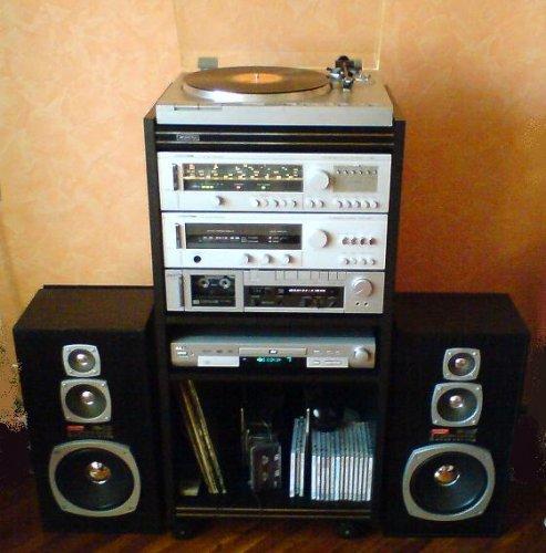 Videoton hi-fi torony