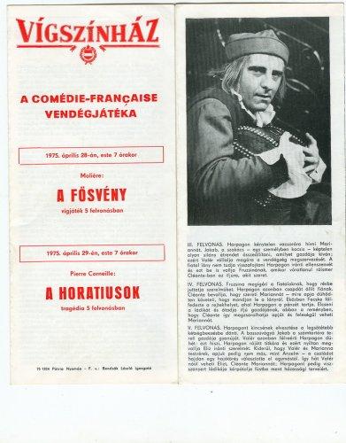 Vígszinházi kiadvány