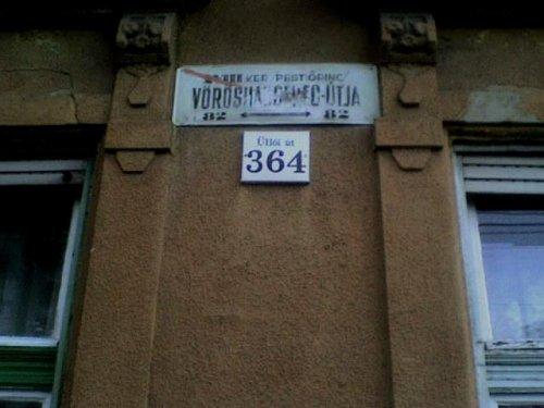 Vöröshadsereg útja Budapesten