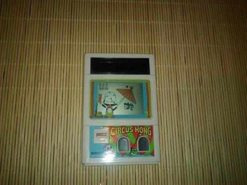 Casio Circus Kong LCD játék, napelemes CG30