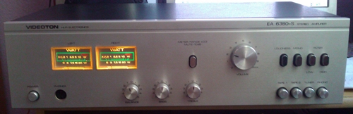 Videoton EA 6380 S STEREO AMPLIFIER